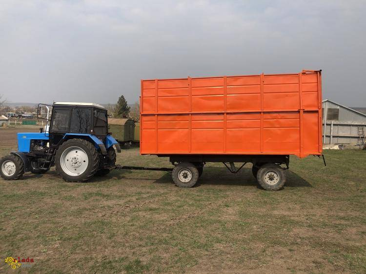 Прицеп тракторный 2ПТС- 4 самосвальный - фото
