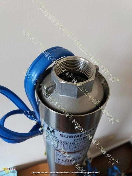 Насосы ЭЦВ Бердянского насосного завода. Надежные насосы - фото