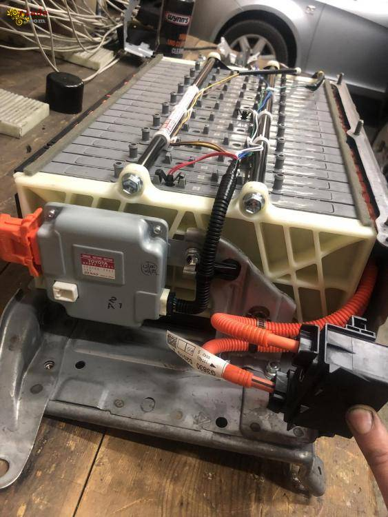 Высоковольтная батарея элементы ячейки ВВБ Toyota Lexus - фото
