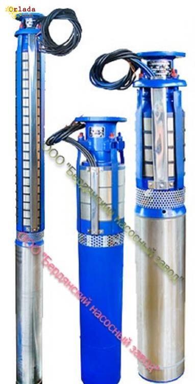 Насосы для скважин. Купить насосы ЭЦВ || Бердянский насосный завод - фото