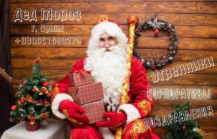 Дед Мороз Сумы для детей и на корпоратив - фото