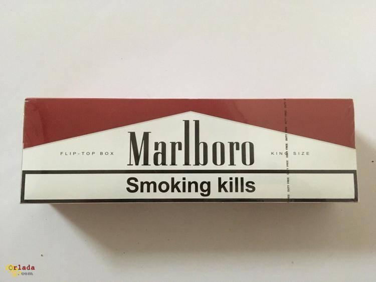 Cигареты Marlboro red duty free оптом - фото