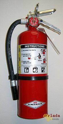 протипожежне обладнання (вогнегасники) та іх технічне обслуговування ,перезарядка - фото