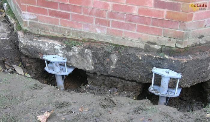 підсилення старих фундаментів - фото
