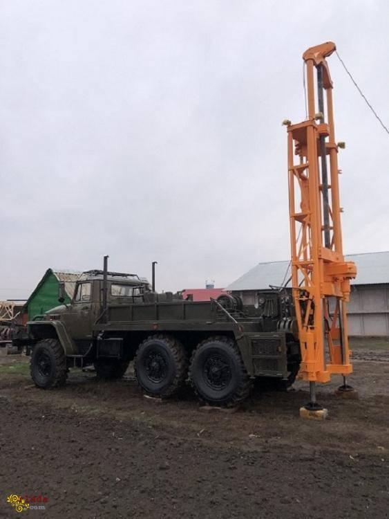 Буровая установка ЛБУ-50 на базе Урала 4320  маленькая наработка в идеальном состоянии - фото