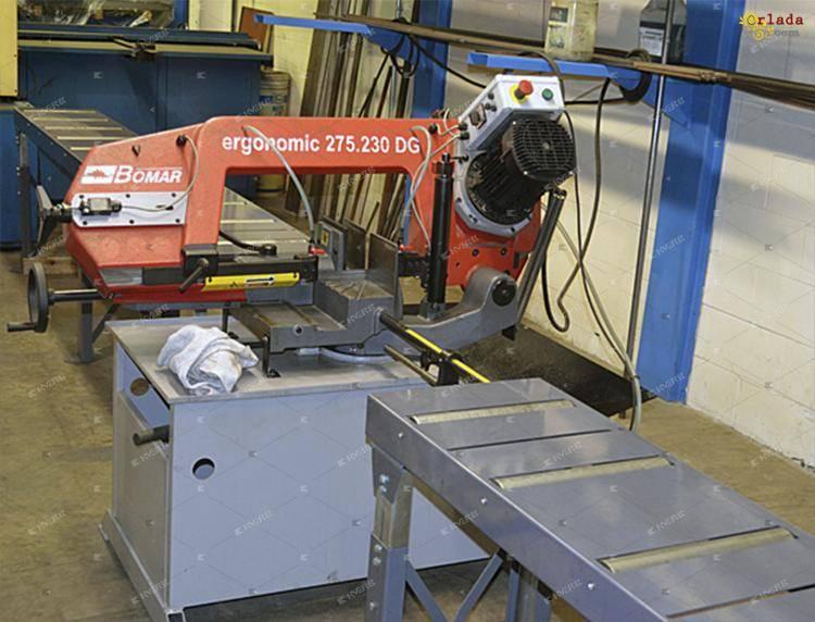 Ленточнопильный агрегат Ergonomic 275.230 DG - фото