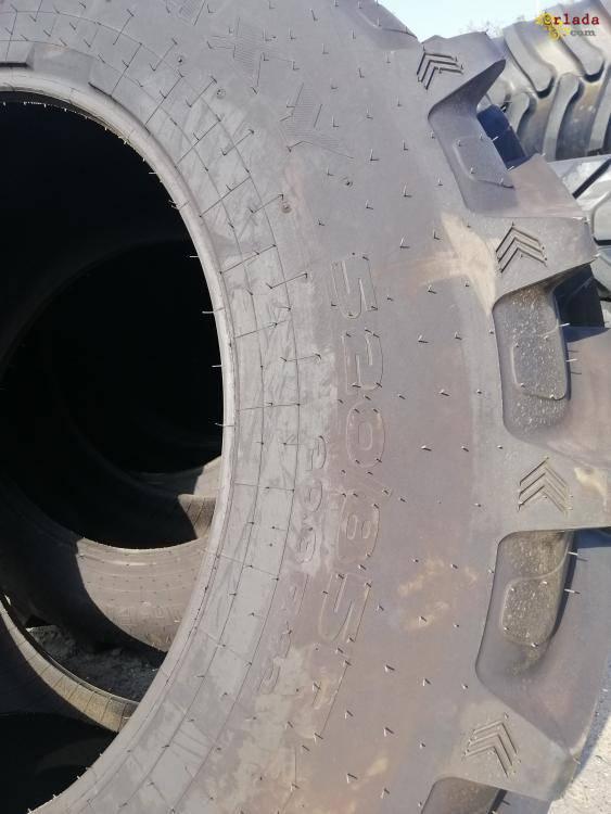 Резина на трактор 520/85R42 (20.8R42), покрышки б/у, камеры.Одесса, Николаев, Запорожье - фото