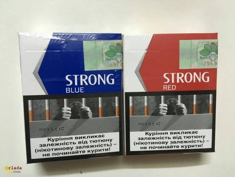 Сигареты Strong(25), Blue, Red, ROYAL compact оптом - фото