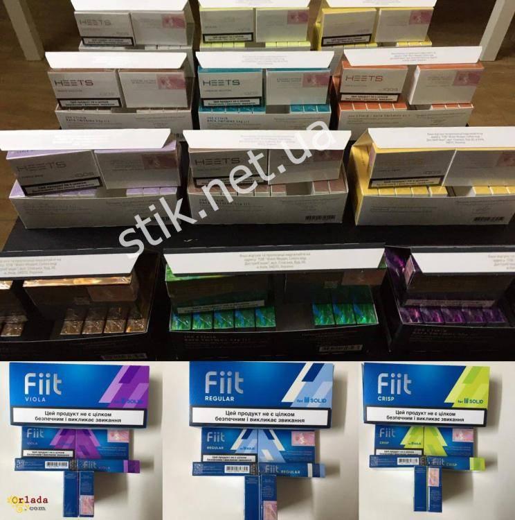 Продам оптом табачные стики с акцизом HEETS и Fiit. - фото