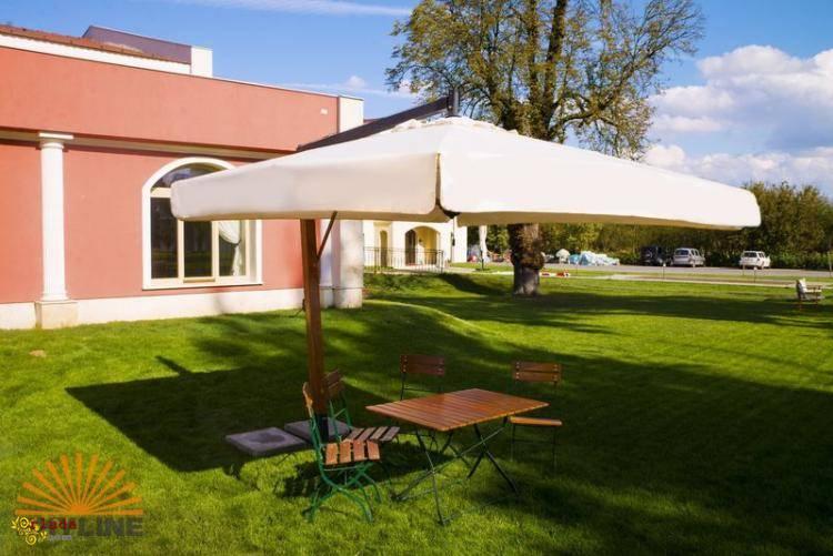 Зонты итальянской фирмы Scolaro от 3х3 до 8х8 - фото