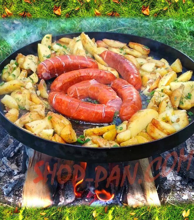 Сковорода з диска борони - фото