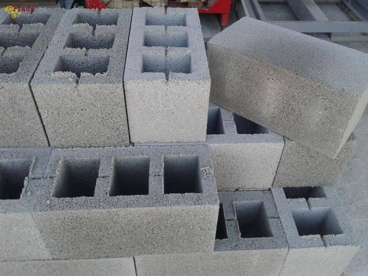 Продам вібропресовані блоки. - фото
