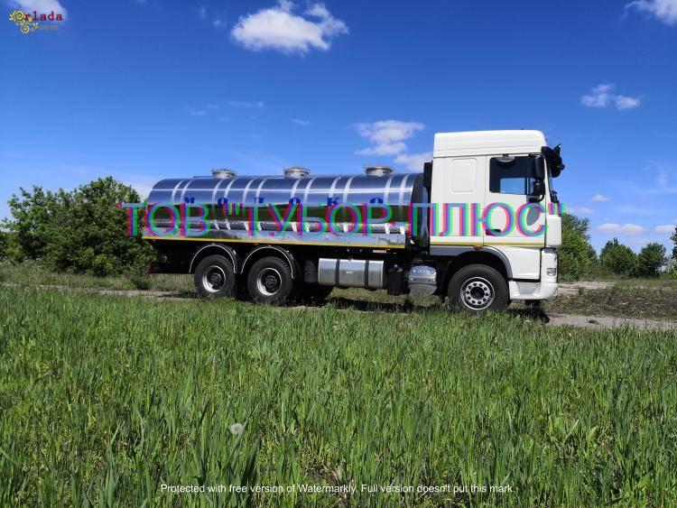 Автоцистерни, водовози, рибовоз, молоковози та інші асенізаторні машини. - фото