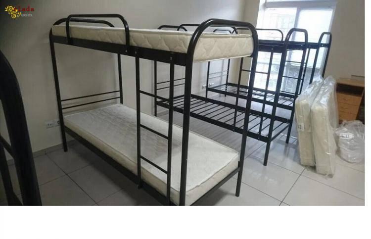 Двухъярусные металлические кровати - фото