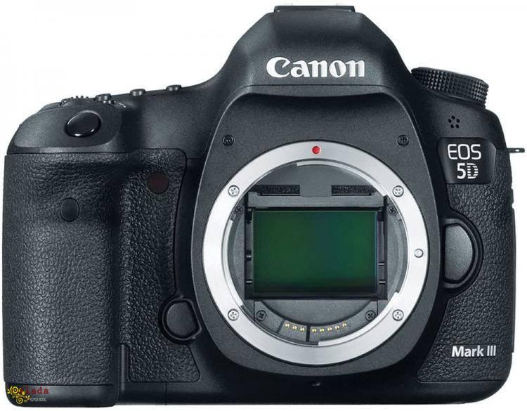 Canon EOS 5D Mark III 22,3-мегапіксельний повнокадровий CMOS із цифровою дзеркальною камер - фото