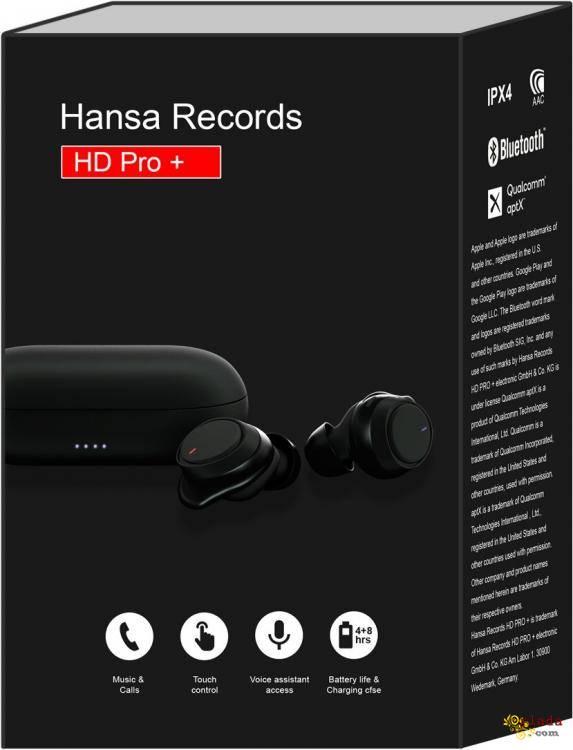 Продам Беспроводные наушники Hansa Records - фото