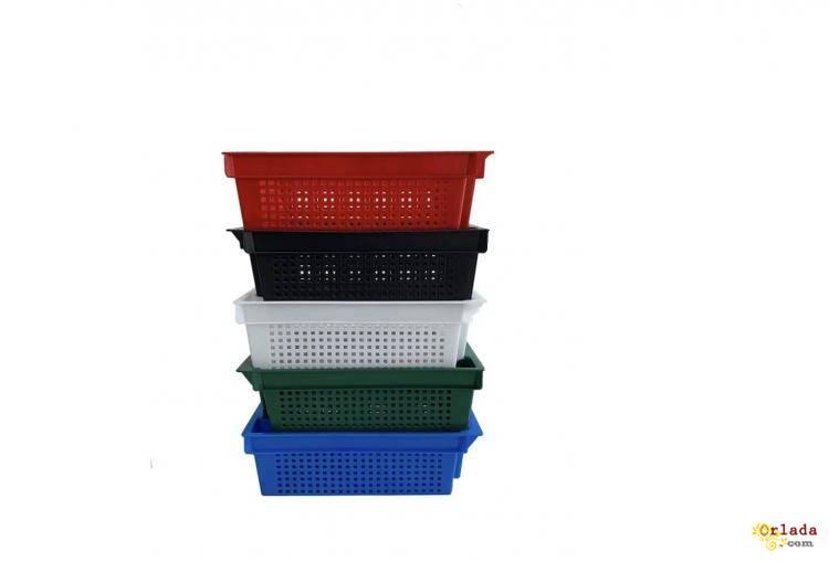 Харчові господарські пластикові ящики для м'яса молока риби ягід овочів у  Вінниці купити - фото