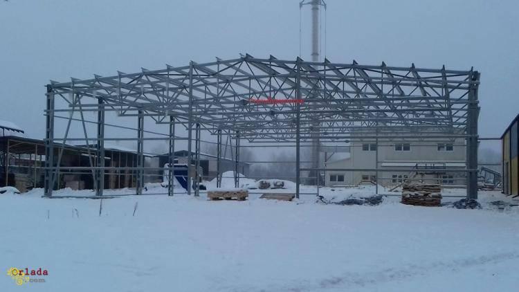 Изготовление и монтаж металлоконструкций в г. Калуш - фото