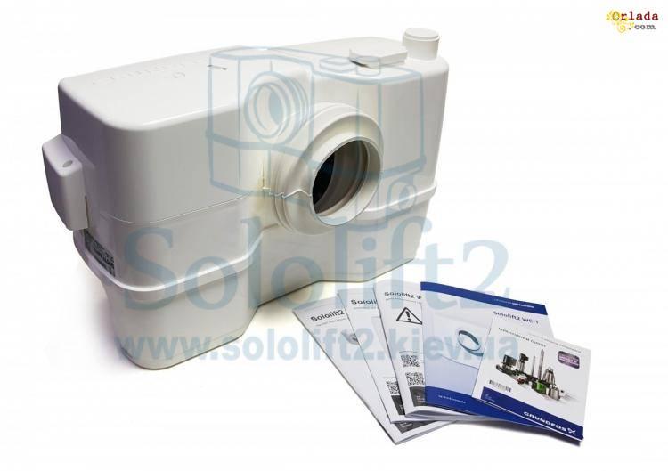 Канализационная Установка Grundfos Sololift2 WC-1 - фото