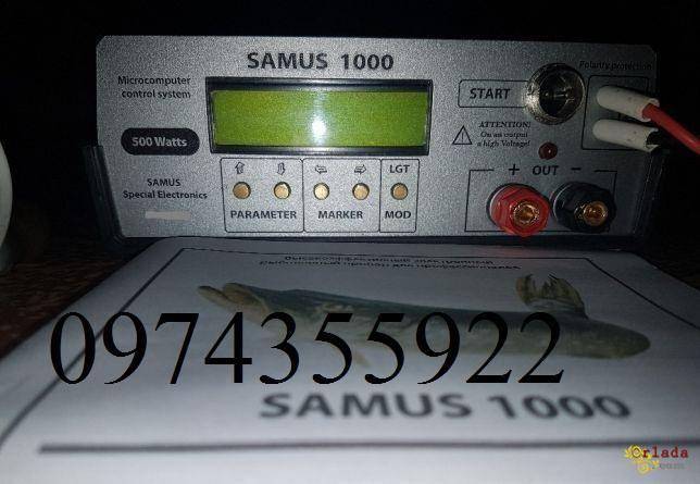 Приборы для ловли рыбы Samus 1000, Rich P 2000, Rich AC 5m - фото