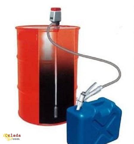 Насосы для перекачки масла ручные, электрические, пневматические, для бочек. - фото