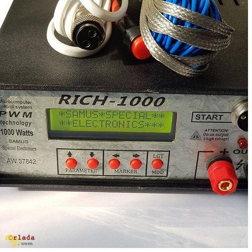 Приборы для ловли рыбы: samus 1000, samus 725 mp, samus 725 ms, RICH-1000 - фото