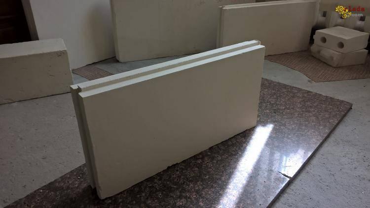 Пpoизводим и пpoдаем пазогребневые гипcoплиты для быстрого и простого возведения стен - фото