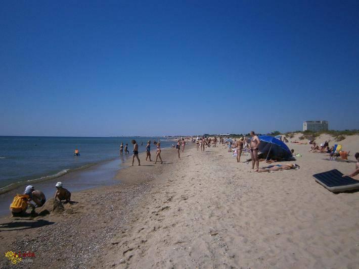 Отдых семейный дешевый тихий у моря Затока-курорт Каролино Бугаз - фото