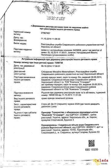 Территория 2,5 гектара, Скадовск, Херсонская обл. Продам - фото