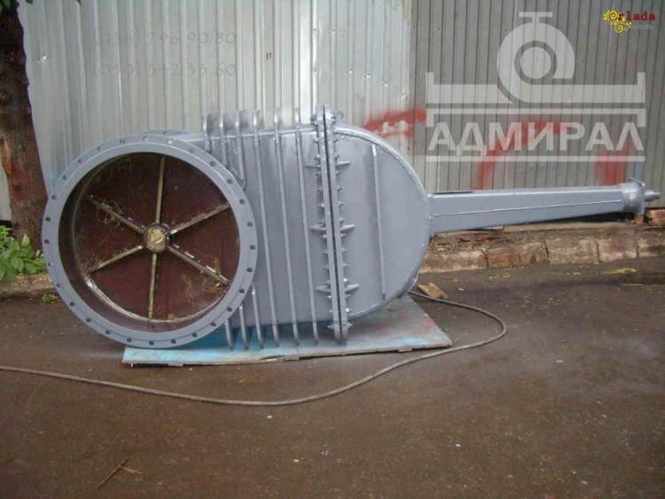 Изготовление задвижек клиновых Ду 300-2400 мм - фото