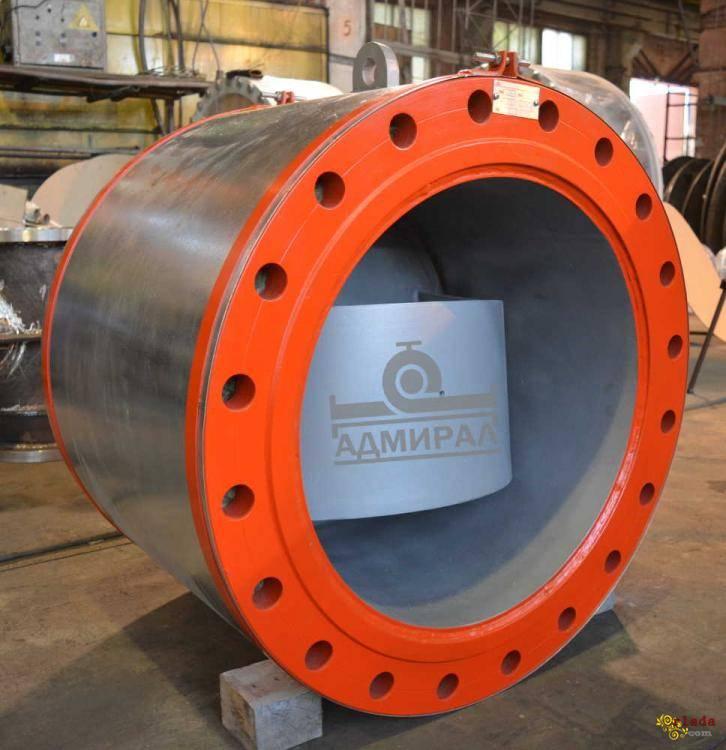 Клапаны обратные дисковые с резиновым уплотнением Ду 300-1200 мм - фото