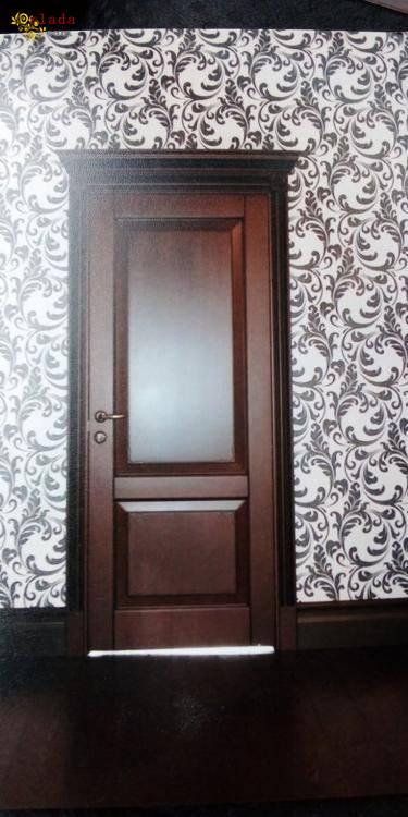 Деревяні двері - фото