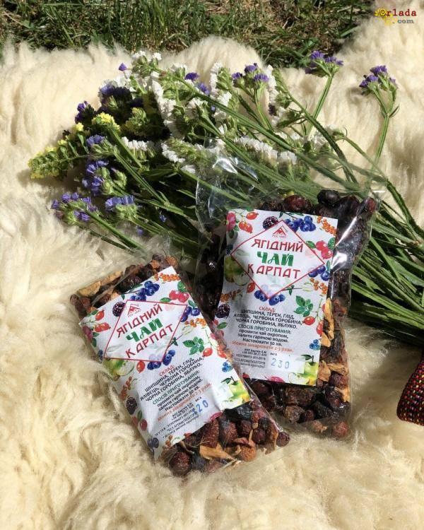 MIКС чаю – натуральні продукти з карпат - фото
