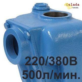 Насос для перекачки дизельного топлива 500л./мин. 1 тонна - 2мин. - фото