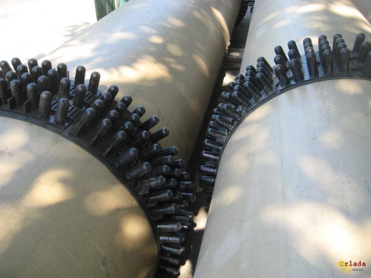 центраторы для санации трубопроводов - фото