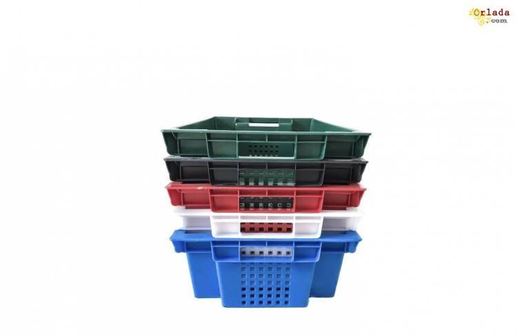 Пищевые хозяйственные пластиковые ящики для мяса молока рыбы ягод овощей в Запорожье купит - фото