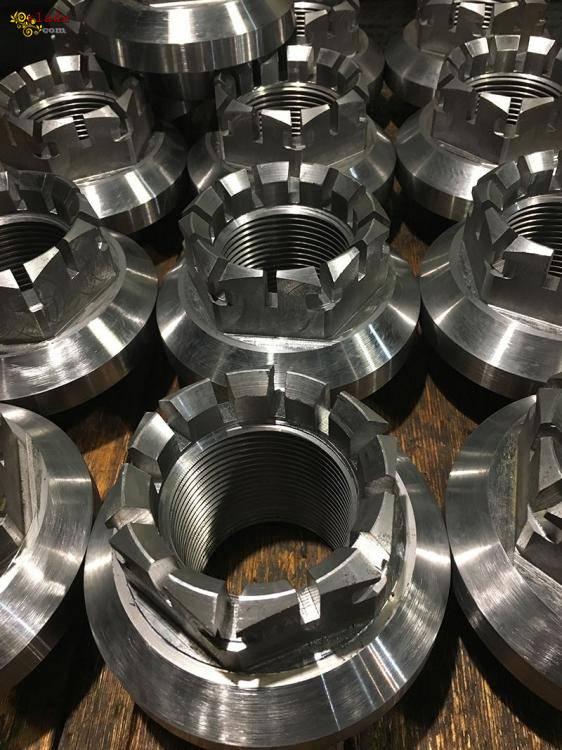 Механическая обработка металлических деталей. - фото