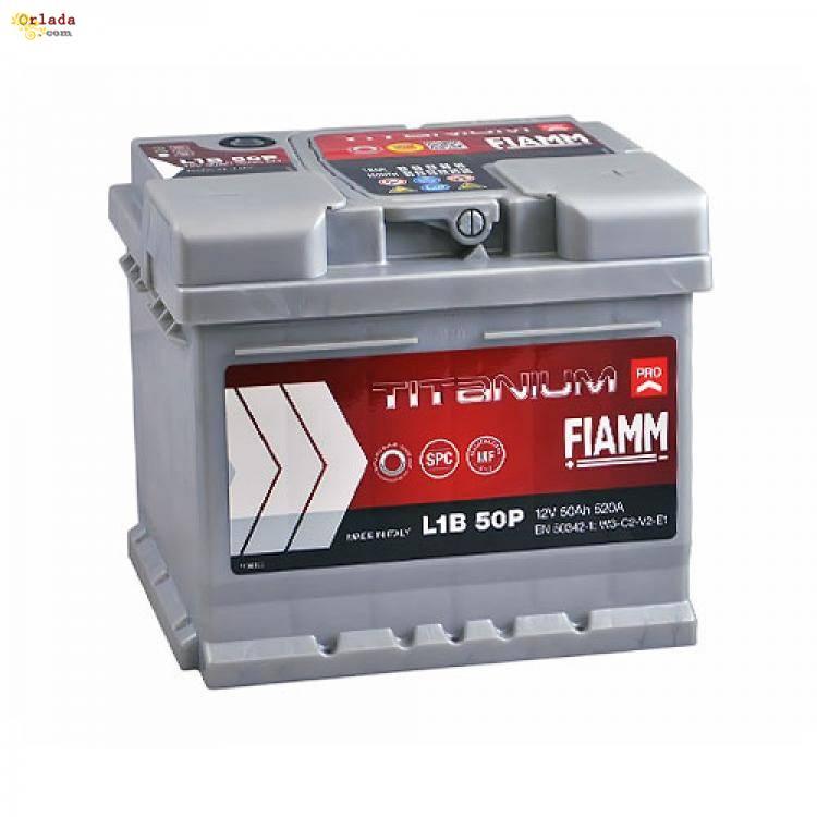 Автомобильный аккумулятор FIAMM Titanium Pro 50Аh 520А R+ - фото