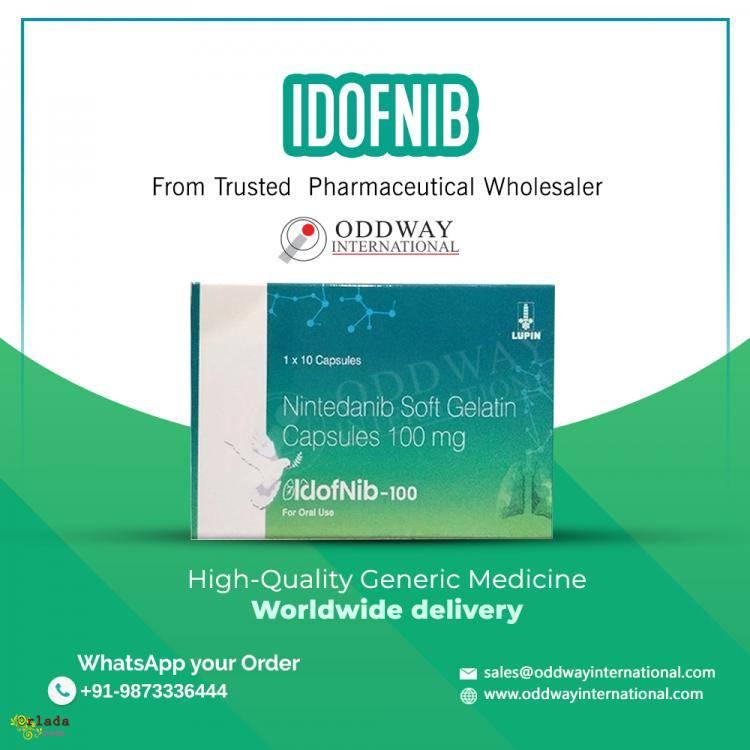 Купить идофниб 150 мг - стоимость идофниб нинтеданиб 150 мг - фото