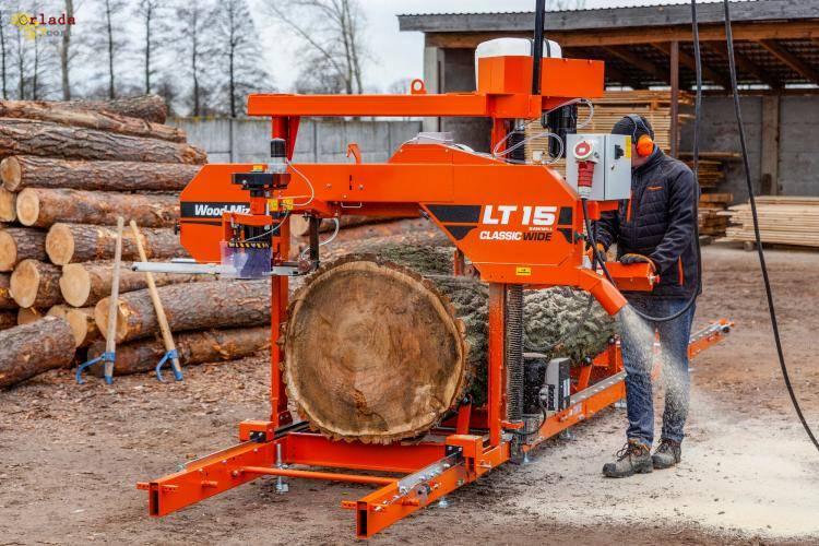 Деревообробка.Чехія - фото