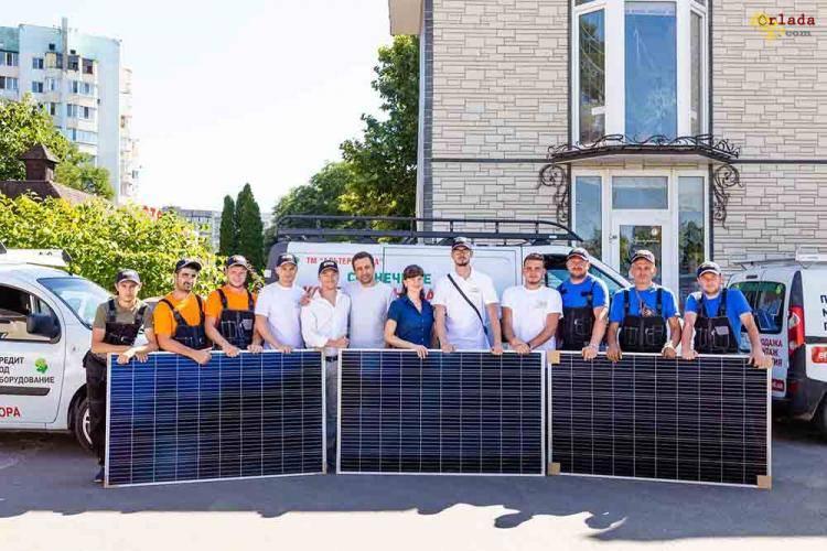 Солнечные станции под ключ в Одессе - фото