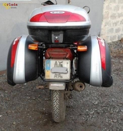 Мотоэкипировка. Багажные системы, боковые рамки для мотоциклов. - фото