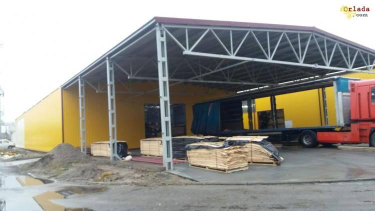Построить помещение под склад в Луцке. - фото