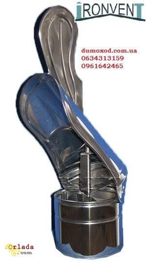 Димарі, труба одностінна, утеплена нержавіюча (сендвіч) - фото