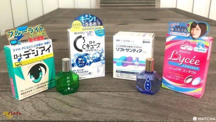 Японские капли для глаз Santen FX NEO/Lion/Rohto 100% качество - фото