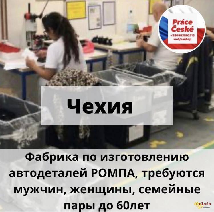Работа в Чехии - фото