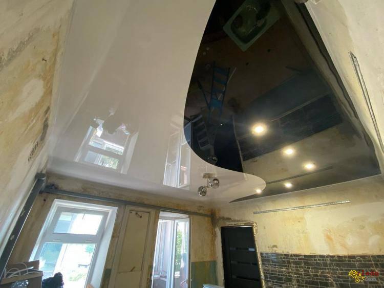 Натяжные потолки в Киеве - фото