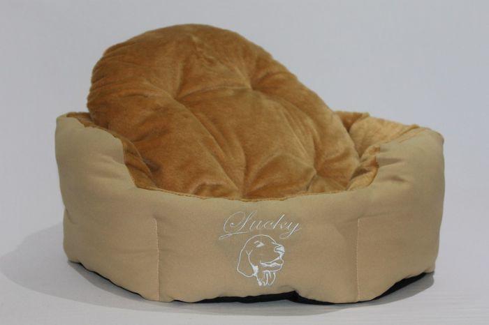 М'яке спально місце для собак,з знімною подушкою - фото