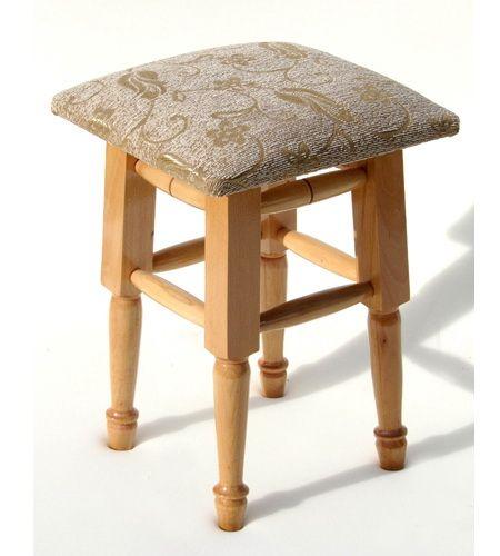 Стулья для кухни, Табурет деревянный - фото