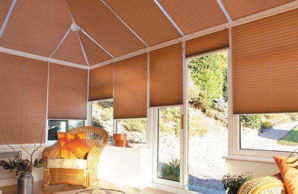 Штори-плісе для мансарди, арочних вікон, веранди і куполів - фото